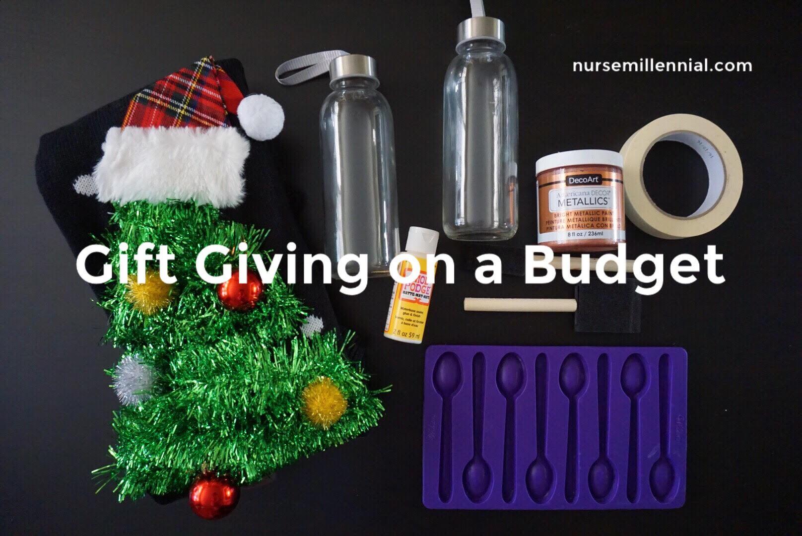 Gift Giving on a Budget | nurse millennial